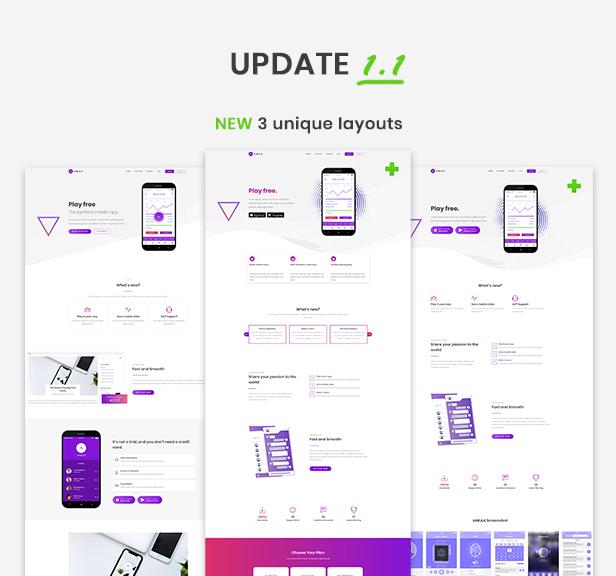 ANKAA - App Landing Page - 1